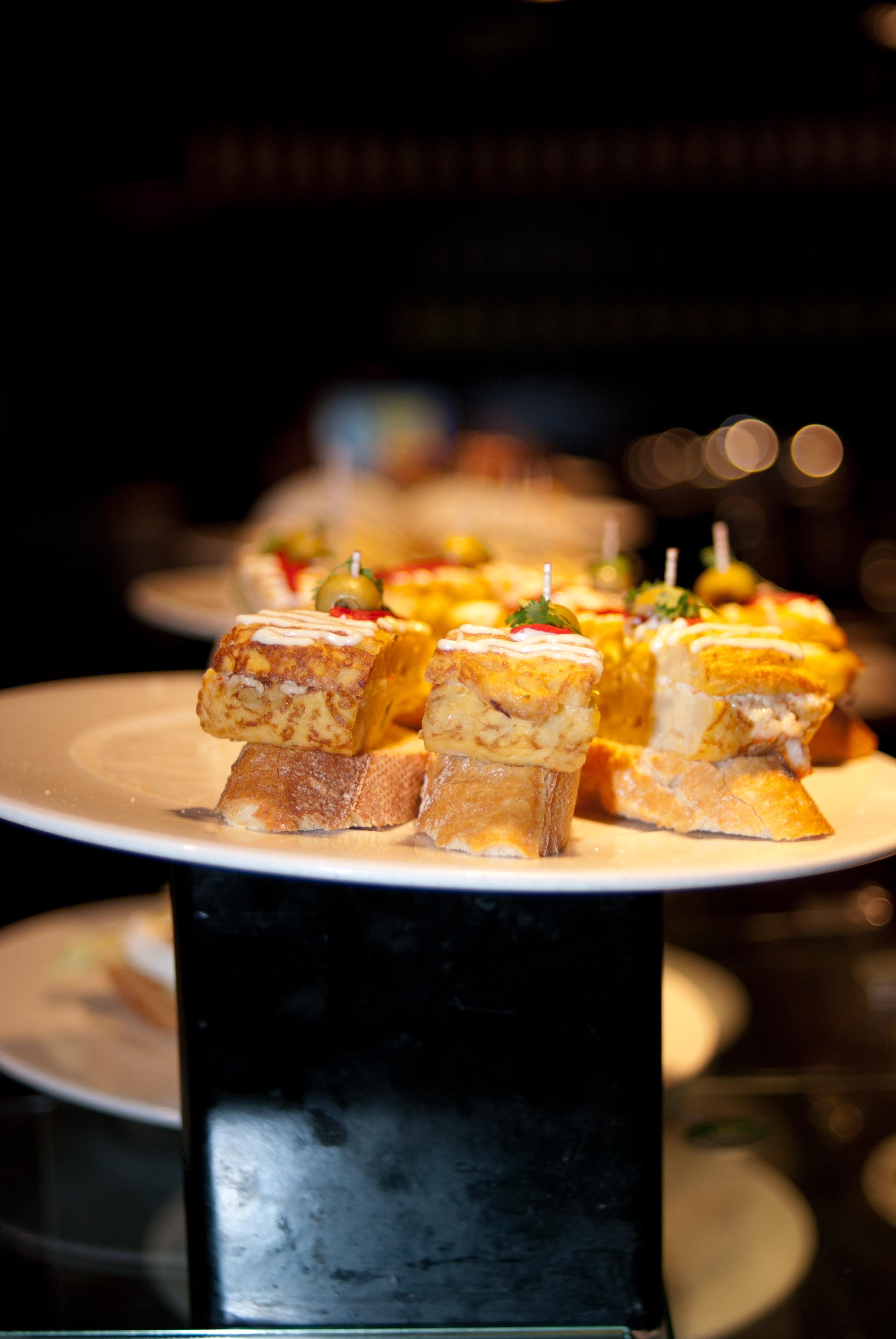 Tapas Heaven!  This is our new favorite tapas bar in Barcelona…