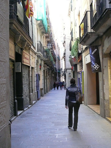 A Virtual Visit to Carrer Petritxol in Barcelona