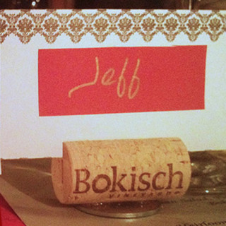Wine Themed Placecard Holders