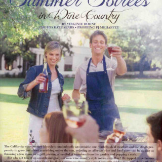 Wine Enthusiast – Summer Soirees in Wine Country